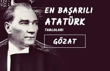 Atatürk Tablo Poster